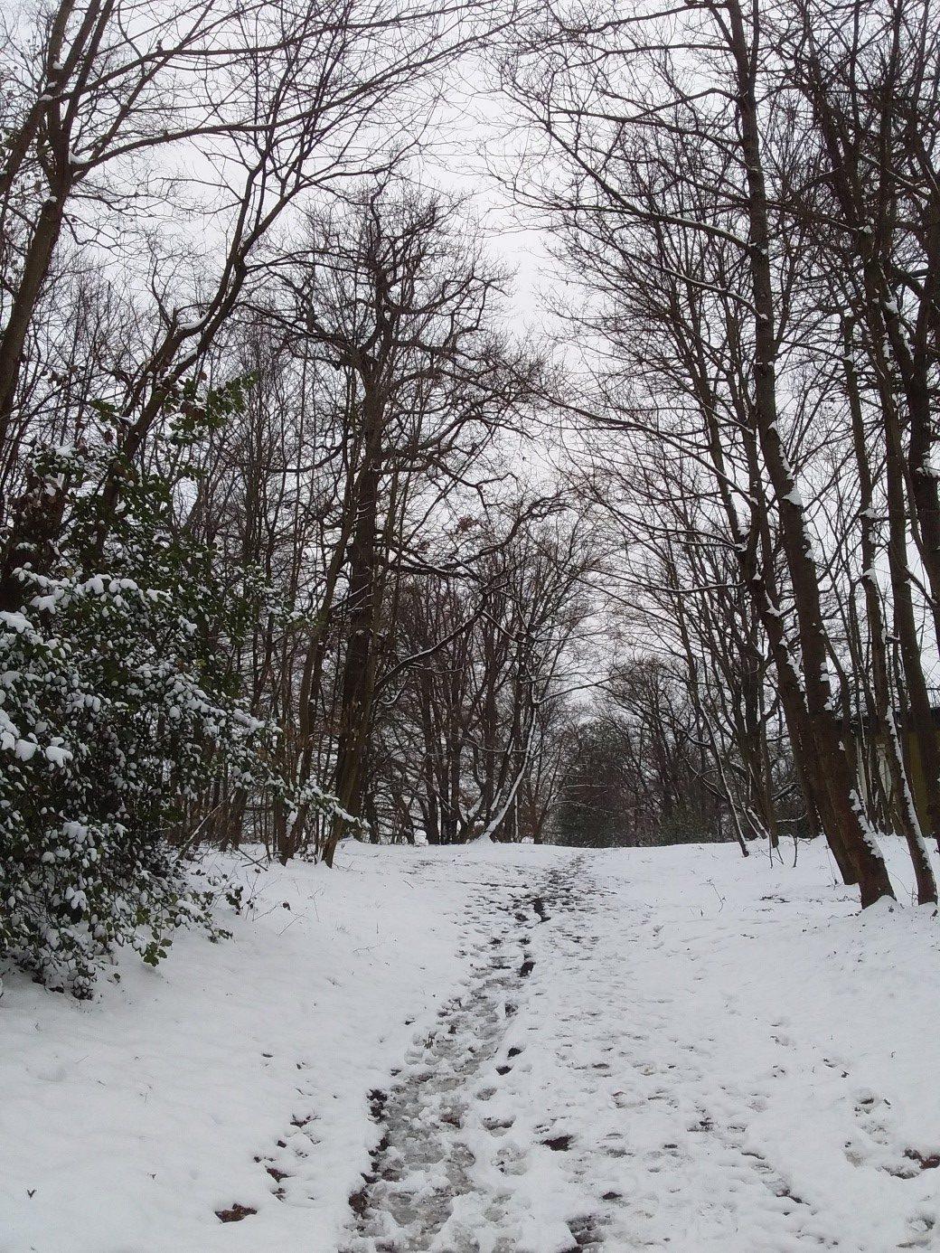 Le chatelard dans la neige 1
